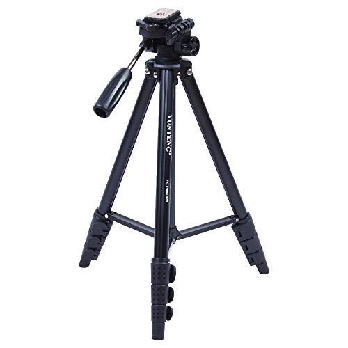 Yunteng 681高品質のアルミ合金の三脚一眼レフカメラDVカメラの三脚