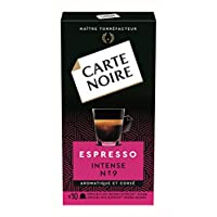 Lavazza Carte Noire Intense Nespresso兼容咖啡胶囊, 10盒装 (共100粒胶囊)
