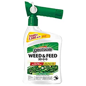 Spectracide 96262 Ready-to-Spray Weed and Feed Pest Killer, 32-Ounce, Pack of 1