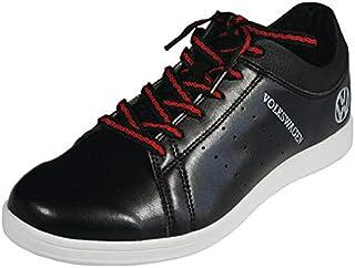 LEZAX Volkswagen 无钉鞋 高尔夫鞋 VWSH-9502 黑色 25.5cm