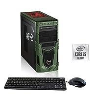 Hyrican Military Gaming 6560 i5-10400F 16GB 480GB SSD 1TB HDD GTX 1650 *