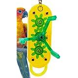 Lucky Bird Toys Gear Head 12in Length Small Bird Toy