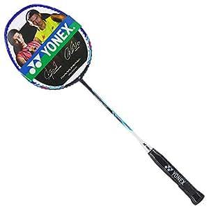 YONEX 尤尼克斯 中性 羽毛球拍全碳素单拍 NR-20-187 黑海蓝(亚马逊自营商品, 由供应商配送)