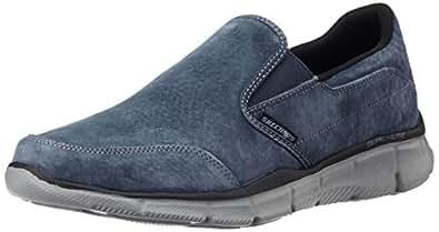Skechers 斯凯奇 SPORT系列 男 时尚轻质一脚蹬运动休闲鞋 51502/N VY 海军蓝色 42 (US 9)