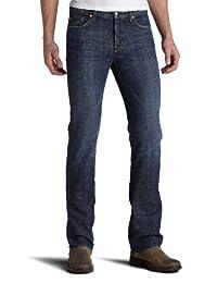 7For All Mankind 男式标准 striaght 腿长牛仔裤 IN NEW YORK Dark