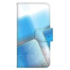智能手机壳 手册式 对应全部机型 印刷手册 wn-155top 套 手册 箱子艺术 UV印刷 壳WN-PR014364-S AQUOS PHONE es WX04SH B款