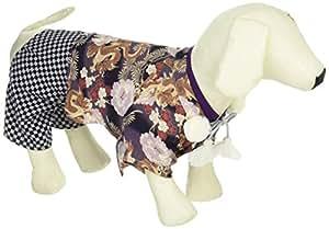 艾薇黛·荷丽黛 宠物用 羽织袴(牡丹龙) HWA018 紫色 2号