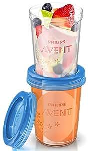 AVENT 新安怡 婴儿 辅食储存杯组240ml(产地:英国) SCF639/05