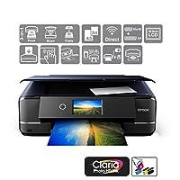 Epson 爱普生 Expression Photo XP-970 打印/扫描/复印 Wi-Fi 打印机,黑色