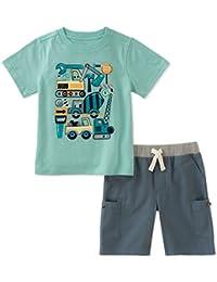 Kids Headquarters 男孩短裤套装 2 件套
