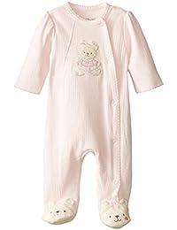 Little Me Baby-Girls Newborn Sweet Bear Footie