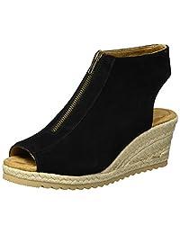 Skechers Monarchs-Touche 女士坡跟凉鞋