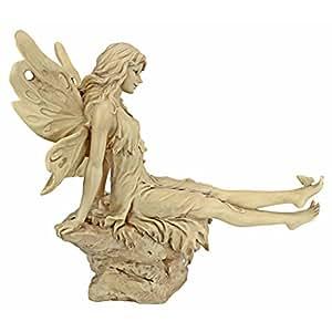 Design Toscano 闪光的脚趾童话仙子雕像