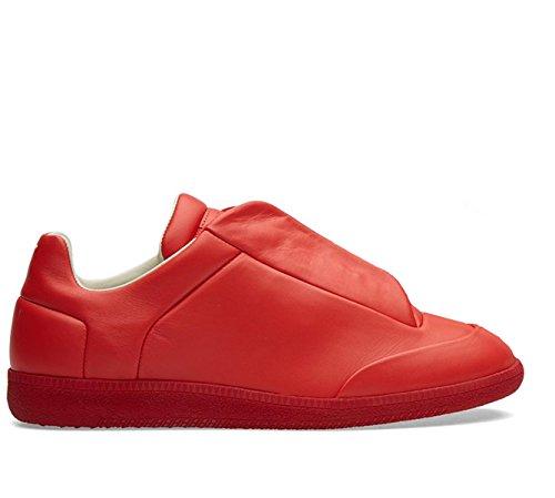 MAISON MARGIELA MAISON MARGIELA 男人 S37WS0263SX8966312 红色 皮革 运动鞋 / 意大利直邮【亚马逊海外卖家】