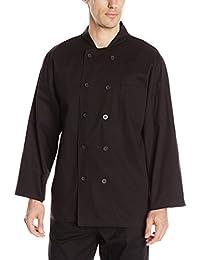 CHEF CODE 男式经典*** 高级棉质长袖厨师服