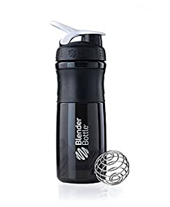 BlenderBottle SportMixer 水杯,28 盎司,黑/白