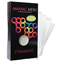 Framar Maniac 网布 - 用于*、*、漂白剂的网状带 - 50 包(可重复使用)