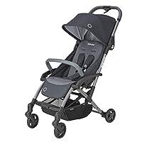 Maxi-Cosi 迈可适 Laika 紧凑型婴儿车,带可选Maxi Cosi Laika 柔软手提包,出生后可用 essential graphite