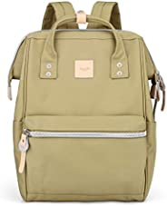 Himawari 笔记本电脑背包 旅行背包 带 USB 充电端口 大号尿布包 *包 学校背包 男女通用 1881-nyg 常规