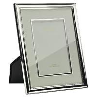 Addison Ross 银色奶油色底座和挡板 银色 5x7 FR0666