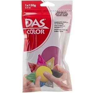 DAS 颜色成型粘土 150g (5.3oz) 可重新密封袋中的空气-生化 紫红色