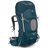 Osprey 精灵 户外背包 Ariel 蓝色 XS码 女款耐用户外徒步穿越登山越野双肩重装背包带防雨罩轻量背包 三年质保终身维修