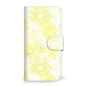 MITAS 手机壳翻盖式花 黄色 18_HUAWEI nova2 (HWV31)