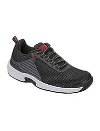 Orthofeet 经证实的*和脚跟*缓解。 加宽。 Best Orthopedic,足底*,*男士步行鞋,Tacoma
