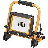 Brennenstuhl 移动式 LED 建筑射灯 JARO 2000 M (适用于室外,IP65,带2米电线,20W,带快速锁扣)黑色/黄色