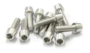 MSC 自行车螺栓 Alu7075T6 M6x20。 银色阳极氧化(10 件)