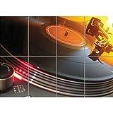 Doppelganger33LTD TECHNICS 1210 DECKS DJ GIANT 海报艺术印画 X3214 A 46.8 inch x 33 inch 1