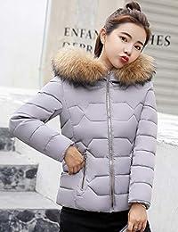 杨埔 冬季新款连帽短款外套女韩版甜美显瘦羽绒服女棉衣外套学生外套棉袄外衣