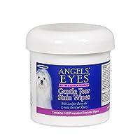 Angel's Eyes 温和撕裂 100 张预涂纹理染色湿巾 100 ct