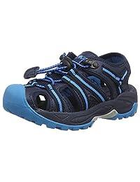 CMP 中性儿童 Aquarii 闭趾凉鞋 Blue (B.blue-cyano 27nc) 9.5 UK