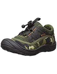 Northside 儿童 Brille II 夏季水鞋,迷彩,美国 6 M 码大童;配有防水防水防水防水袋