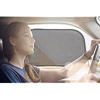 50遮光帘 OF SUN 汽车遮阳罩适用于侧窗–轻松吸附遮阳罩适用于任何 TYPE OF CAR–完美色调 for you and YOUR baby–97 防紫外线