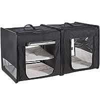 WeRChristmas Mool 宠物屋,4公斤,黑色