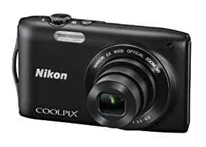 Nikon 尼康 COOLPIX S3300 便携数码相机(黑色)