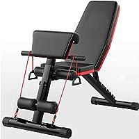 SHSYCER 可调节重量长凳 7 个可调节角度重量长椅适合全身锻炼,可折叠平/倾斜/倾斜 FID 长凳 适用于家庭健身房