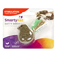 SmartyKat Batty Birdy Compressed Catnip Toy-