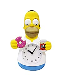 NJ Croce Homer Simpson Animated Wall Clock