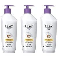 OLAY 玉兰油 玉兰油润肤露,含有乳木果油的Quench超保湿产品,11.8盎司/350毫升(3件装)