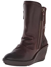 FLY London Women's Simi Boot, Dark Brown/Expresso, 37 EU/6.5-7 M US