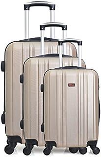 Hero Stromboli 行李箱套装,76厘米,189升,米色(香槟色)