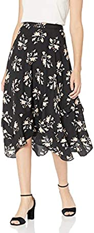Calvin Klein 卡爾文·克萊恩 女式 褶皺細節中長裙