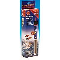 American Paws 宠物产品 15 加仑水族箱加热器 75 瓦全潜水式清新盐水鱼缸加热器 带恒温器