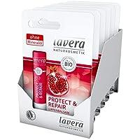 lavera 拉薇 Protect & Repair 唇膏 ∙植物活性成分 ✔ 天然化妆品 ✔ 创新 唇部护理 6件装(6 x 1件)