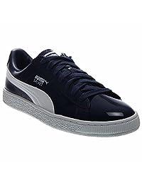 PUMA 男士 Basket Matte and Shine 时尚运动鞋
