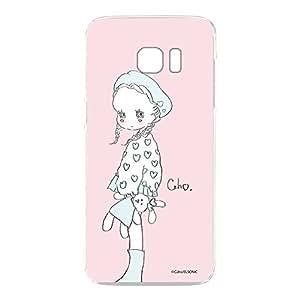 caho 保护套透明 Tpu 印花毛绒玩具和小女孩手机壳适用所有机型  ぬいぐるみと少女C 3_ Galaxy S7 edge SC-02H