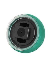 Watch winder(ウォッチワインダー) - グリーン、LEDライト、回転方向選択可KA077(GR) ??- KA077(GR)